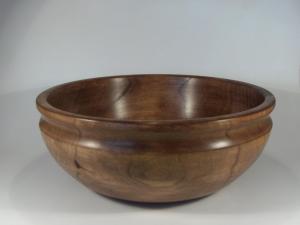 Ref. MA2122 - Cuenco torneado en madera de Aliso
