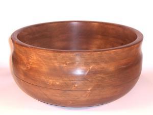 Ref. MA2121 - Cuenco torneado en madera de Aliso