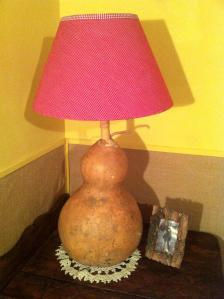 Ref. CA1101 - Lámpara de mesa con pie de calabaza