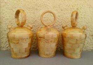 Ref. MA2110 - Botijos segmentados de madera de Pino